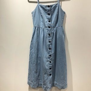 VERO MODA NWT denim midi dress with pockets